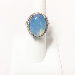 Lab Created Moonstone Ring